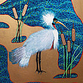 Jo Ann Bledsoe-Nackley - Bird on Pond