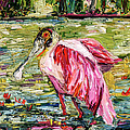 Ginette Callaway - Birds of Florida Roseate...