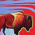 Joe  Triano - Bison in the Winds of...