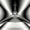 Maria Urso - Artist and Photographer - Black and White Fractal