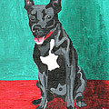 Genevieve Esson - Black Pit Bull Terrier