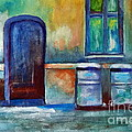 Halina Plewak - Blue Door