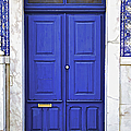 David Letts - Blue Door of Estremoz