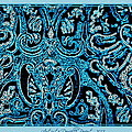 Danielle  Parent - Blue Paisley Patterns