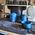 Susan Savad - Blue Pots on Stove