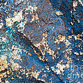 Chris Scroggins - Blue Rock Abstract
