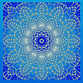 Hanza Turgul - Blue Space Flower