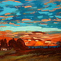 Joseph Hawkins - Blue Sunset