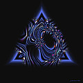 Judi Suni Hall - Blue Triangle Jewel...