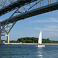 Ann Horn - Blue Water Bridge Sail