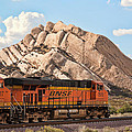 Peter Tellone - BNSF past Mormon Rocks