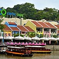 Imran Ahmed - Boats at Clarke Quay...