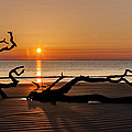 Debra and Dave Vanderlaan - Bones Beach Sunrise