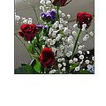 Randi Grace Nilsberg - Bouquet in Red White and...