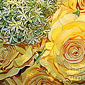 Dora Sofia Caputo - Bouquet of Yellow Roses