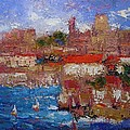 R W Goetting - Bright day in Dubrovnik
