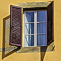 David Letts - Brown Window Shutters of...