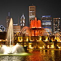 Frozen in Time Fine Art Photography - Buckingham Fountain at...
