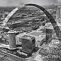 Thomas Woolworth - Busch Stadium BW A View...