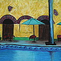 Jeanne Fischer - By the Poolside