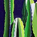 Karyn Robinson - Cactus in the Desert...
