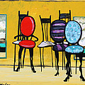 Karon Melillo DeVega - Cafe Chairs