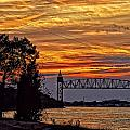Constantine Gregory - Cape Cod Canal Sunset