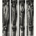 Jerry Fornarotto - Carved Columns bw Quad...