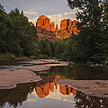 Lee Kirchhevel - Cathedral Rock Sunset...