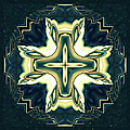 Zeana Romanovna - Celtic Cross Abstract