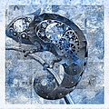 Variance Collections - Chameleon - Blue 01b02