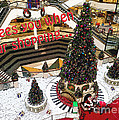 Nancy E Stein - Christmas At The Mall