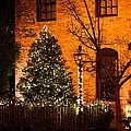 Judy Genovese - Christmas Courtyard in...