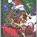 Tisha McGee - Christmas Frog Greeting...