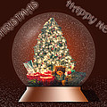 Barry Jones - Christmas Tree Snow Globe