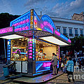 David Smith - Churros Stand with Neon...