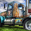 Ian Mitchell - Circus Truck Artwork