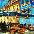 Daliana Pacuraru - City street cafe
