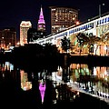 Frozen in Time Fine Art Photography - Cleveland Ohio Reflects