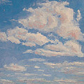 Robie Benve - Clouds on Blue