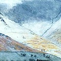 Nigel Radcliffe - Clouds over Blencathra