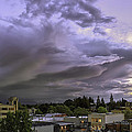 PhotoWorks By Don Hoekwater - Clouds Over Downtown