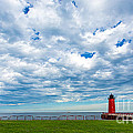 Andrew Slater - Cloudy Milwaukee Harbor