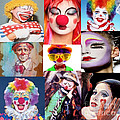 M and L Creations - Clown collage