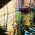 Jennie Breeze - Colorful Canal in Venice