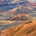 Pierre Leclerc Photography - Colorful Cinder cones in...