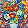 Ana Maria Edulescu - Colorful Flowers -...