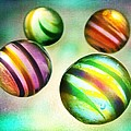Marianna Mills - Colorful Glass Marbles