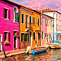 Michael Pickett - Colorful Houses of Burano