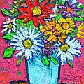 Ana Maria Edulescu - Colorful Joyful Daisies...
